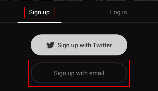 How to sign up for Vine with email