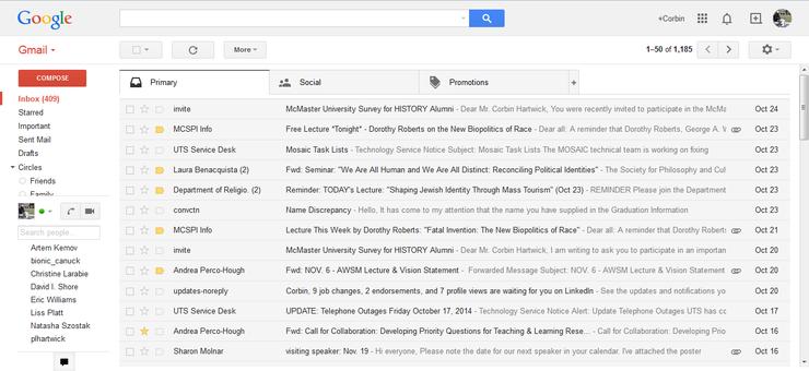 How to use gmail inbox screenshot