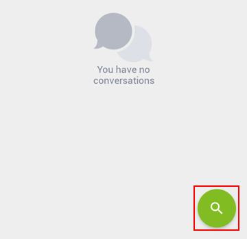 How to start a new conversation on Kik