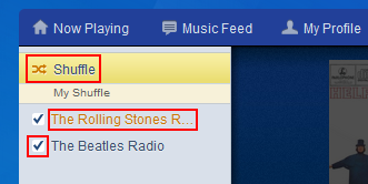 How to shuffle your Pandora radio stations