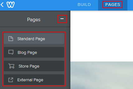 How to add a new web page to your Weebly website