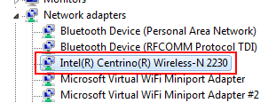 How to check the status of your wireless adapter