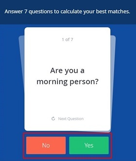 Answer 7 introductory Yes or No questions about yourself