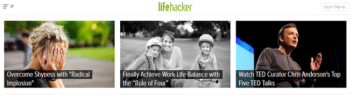 Browse through Lifehacker's featured stories.
