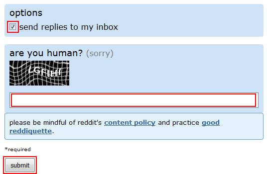 How to finalize and submit your Reddit text post