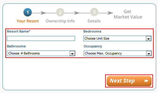 How to submit details about your timeshare unit for appraisal