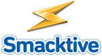 Smacktive logo.