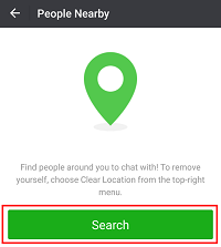 See WeChat users near you