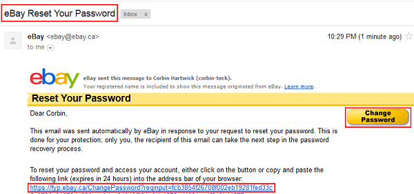 Verify your identity for eBay