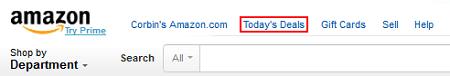 Log into Amazon