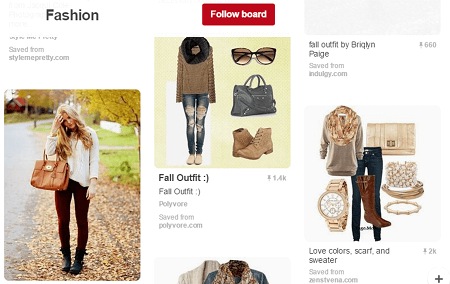 Pinterest fashion pins