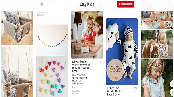 Pinterest business promotion pins