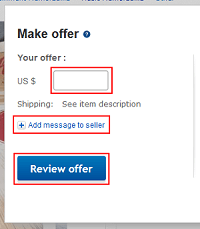 How to Make or Retract a Best Offer on eBay
