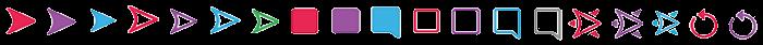Snapchat snap and chat emoji icons