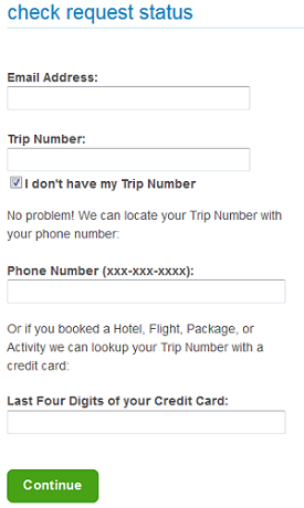 Change details of a booking on Priceline