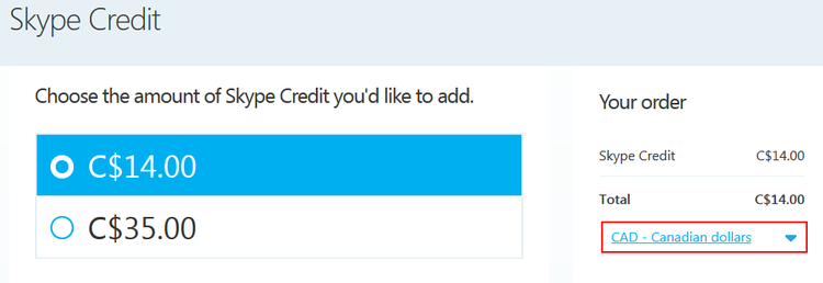 How to buy Skype Credit