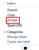 Gmail Archive folder icon