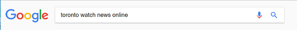 Google search query