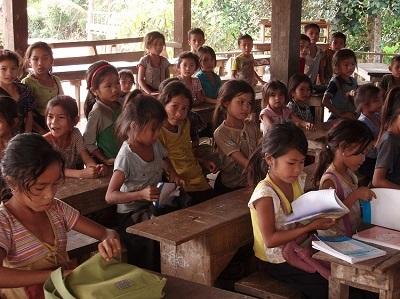 A rural classroom