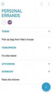 Add tasks to Any.do