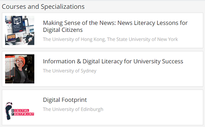 Coursera course offerings