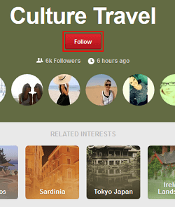 Follow other Pinterest boards