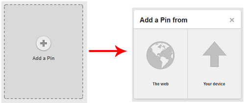 Add a pin to your board