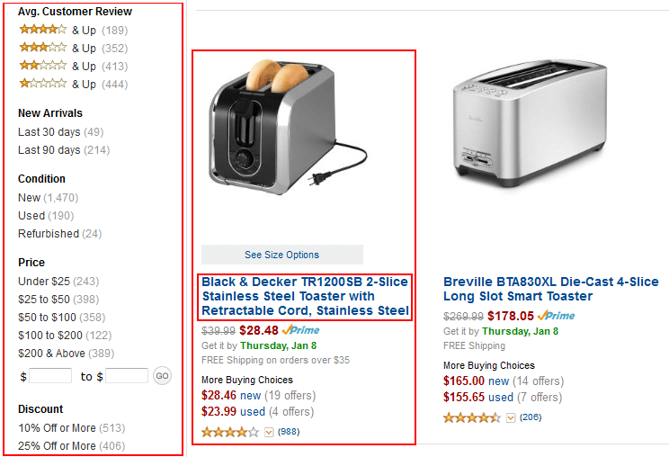 Amazon items for sale