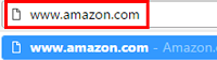 Visit Amazon in web browser
