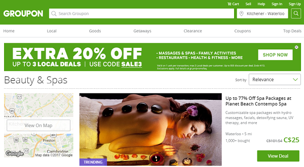 Deals on Groupon
