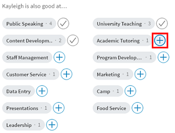 Endorse your LinkedIn connections