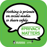 Privacy Matters - social media poster