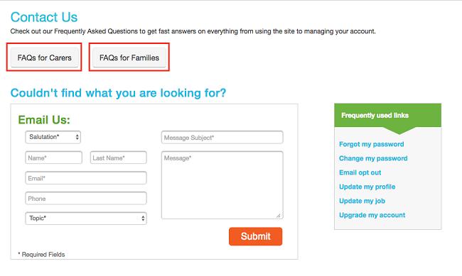 Care.com FAQs