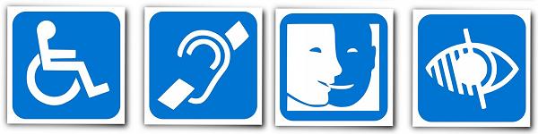 Digital accessibility symbols