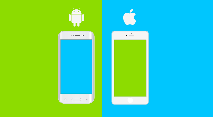 Android and Apple devices