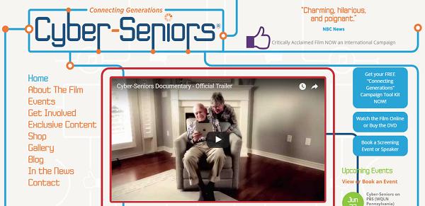 Cyber-Seniors homepage