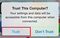 Allow your computer to trust the download