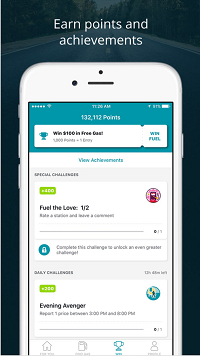 Example of a gas price app