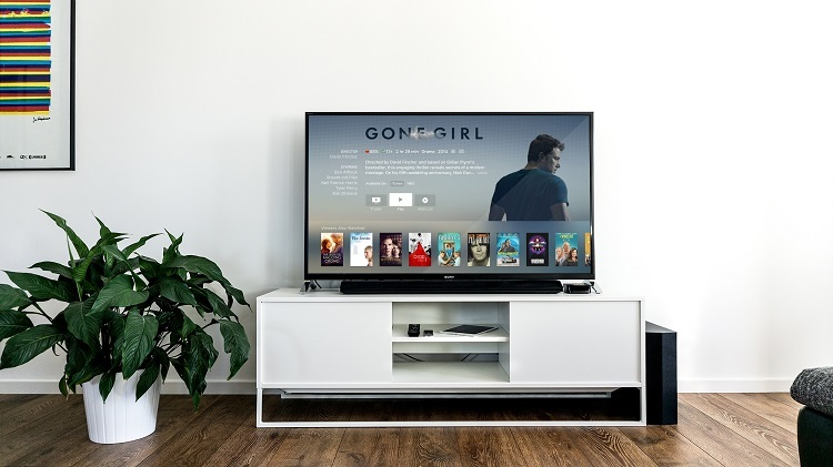 Streaming movies on a television