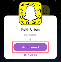 Add Friend button