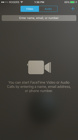 Make a call using FaceTime