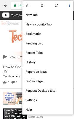 Desktop Mode button
