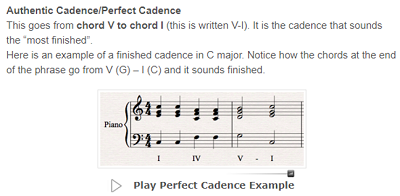 Music Theory Academy lesson example