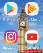 YouTube app Android icon