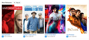 New movie releases on YouTube