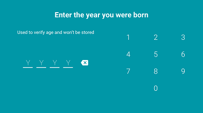 Enter year of birth