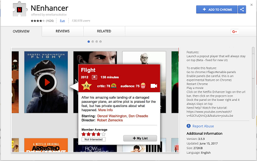 NEnhancer browser extension