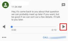 Google Voice Voicemail
