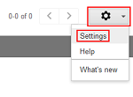 Legacy Google Voice settings