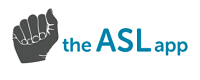 The ASL App logo